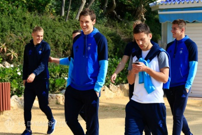 Динамівці прогулялися перед матчем із «Стремсгодсетом»