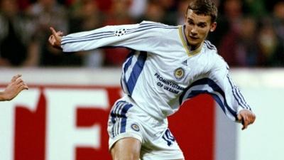 Андрей Шевченко — в топ-10 лучших бомбардиров Лиги чемпионов