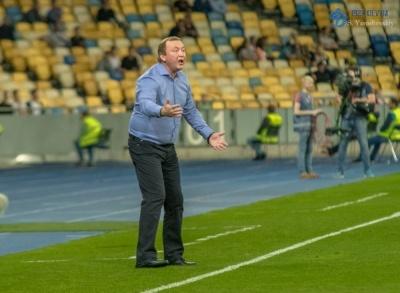 Володимир Шаран: «Матч проти «Динамо» покаже, чого ми варті»