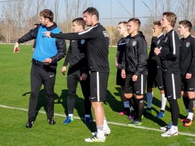 Мілевський відвідав тренування «Сталі»
