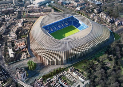 «Челсі» планує будівництво нового стадіону
