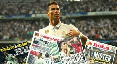 «Проклятий Роналду і скандальний фарс на «Бернабеу». Реакція ЗМІ на матч «Реал» – «Баварія»