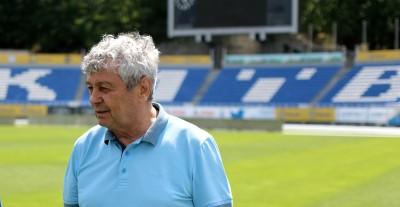 Луческу завтра вернется в Киев и просмотрит на стадионе «Динамо» спарринги команд U-19 и U-21