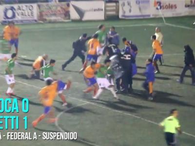 Масштабна бійка на футбольному полі в Аргентині з 12 вилученими гравцями. ВІДЕО