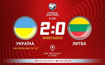 Маліновський on fire. Збірна України знову легко розібралася з Литвою