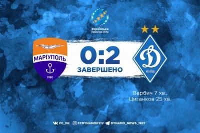 Вербич і Циганков принесли «Динамо» перемогу над «Маріуполем»