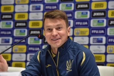 Руслан Ротань оголосив склад молодіжної збірної України на матчі проти Данії та Азербайджану