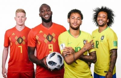 Бразилія – Бельгія: стартові склади