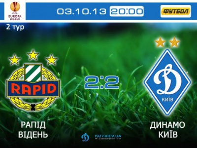 Два обличчя «Динамо». Аналіз матчу «Рапід» – «Динамо»