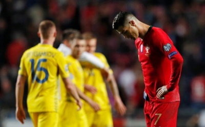 «Роналду в шоці». Реакція соцмереж на нічию збірної України в матчі з Португалією