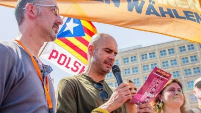 Гвардіола прочитав маніфест на підтримку референдуму про незалежність Каталонії