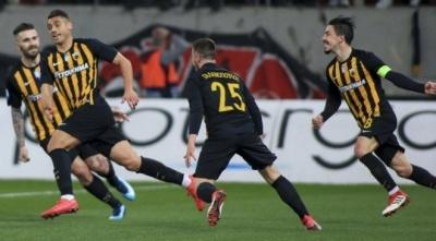 АЕК з Чигринським обіграв «Олімпіакос» і вийшов у півфінал Кубка Греції