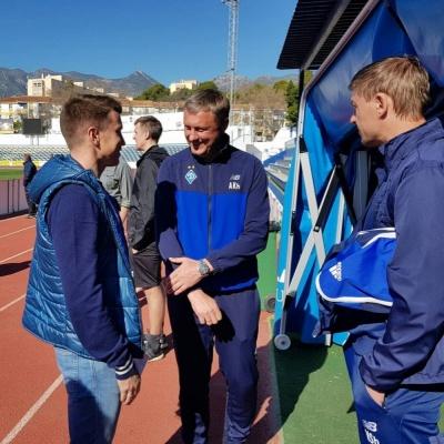 Наставник молодіжної збірної України відвідав матч «Динамо» з «Естерсундом»