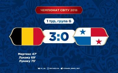 Бельгія громить Панаму в першому матчі групи G