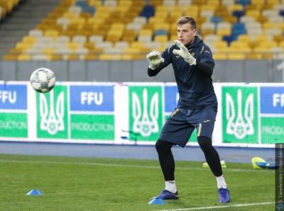 Рева: «Лунин уже готов для первой сборной»