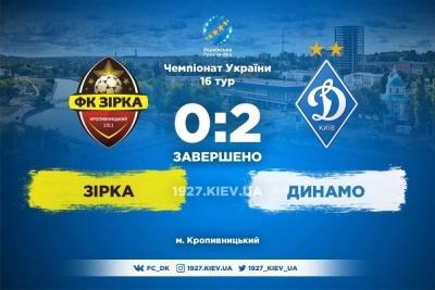 Дубль Мбокані приніс «Динамо» перемогу над «Зіркою»