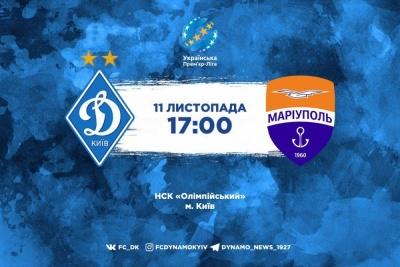 «Динамо» – «Маріуполь». Все про матч