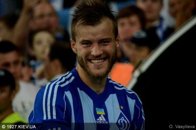 Ярмоленко став кращим гравцем України за версією офіційного сайту УЄФА