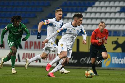 «Динамо» нанесло 20 ударов по воротам «Ворсклы», 9 – в створ