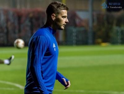 Александар Пантич, не внесенный в заявку на сезон, тренируется с дублем «Динамо»
