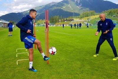 Сідклей провів перше тренування у складі «Динамо»