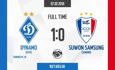 «Динамо» мінімально перемагає «Сувон Самсунг Блувінгз»