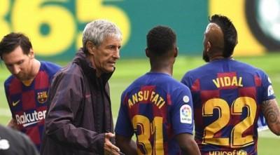 Месси унизил тренера «Барселоны» прямо на поле