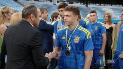 Герой футбольного дня. Микола Матвієнко