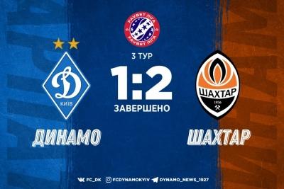 «Шахтар» перемагає «Динамо»