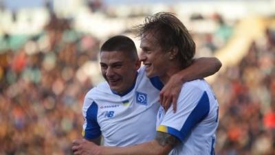 Шабанов забив прем'єрний гол за «Динамо»