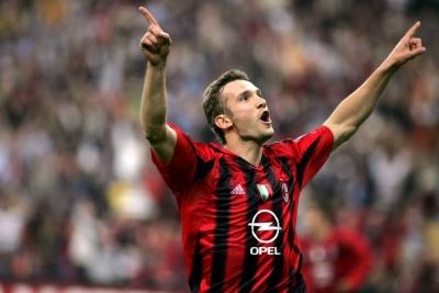 14 років тому Шевченко знищив «Лаціо» і виграв для «Мілана» Суперкубок Італії