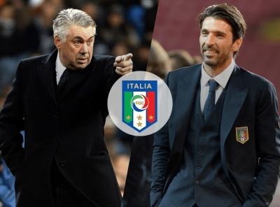 Букмекери оцінили шанси Анчелотті та Буффона очолити збірну Італії