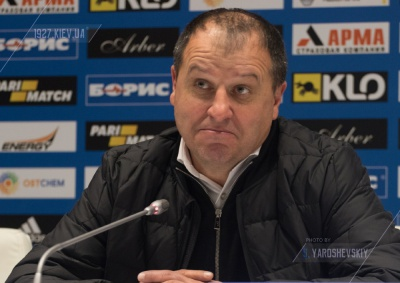 Юрій Вернидуб — про матч з «Динамо»