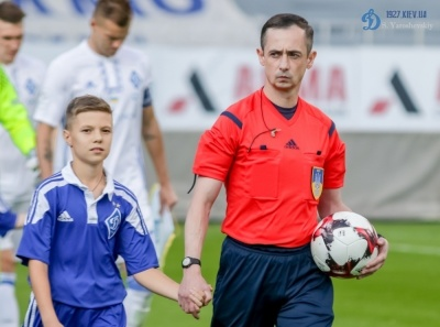 Арбітра матчу «Динамо» - «Чорноморець» дискваліфіковано