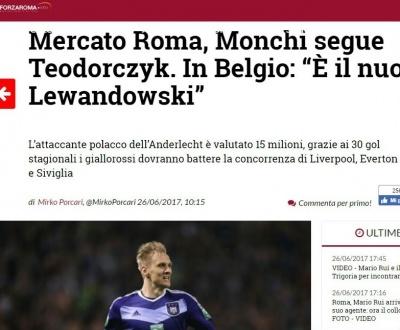 «Рома» хоче колишнього гравця київського «Динамо» і ще кілька гарячих трансферних новин