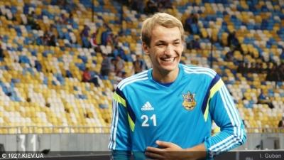Макаренко пропустив тренування перед матчем з Італією