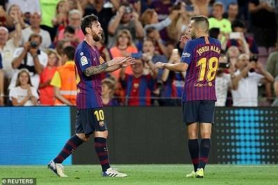 Альба: «Золотий м'яч» — це брехня, всі знають, що Мессі — найкращий гравець у світі