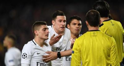 ПСЖ подав офіційну скаргу на суддівство в матчі з «Барселоною» (6:1) в 1/8 фіналу Ліги чемпіонів.