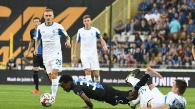 Мнение украинских експертов на поражение «Динамо» от «Брюгге»