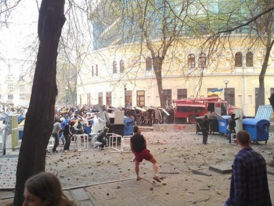 Марш фанатів в Одесі: 4 загиблих, десятки поранених. ФОТО + ВІДЕО