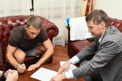Офіційно! Караваєв став гравцем «Динамо» та визначився із ігровим номером