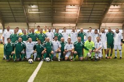 Ветерани «Динамо» та «Карпат» провели матч пам'яті Андрія Гусіна