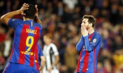 Подія футбольного дня. Виліт «Барселони» з Ліги чемпіонів