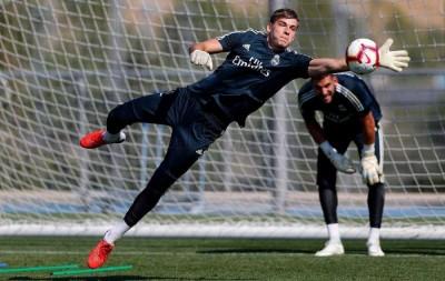 Андрій Лунін: «Бачу себе воротарем «Реала»