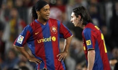 Роналдиньо на вершине, Месси и Роналду в тройке - Transfermarkt назвал сборную самых дорогих игроков 2008