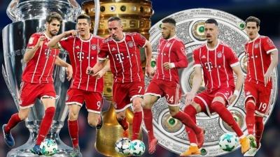 Досягнення «Баварії» і в топ-10 не входить. Рекордсмени Європи за кількістю чемпіонських титулів