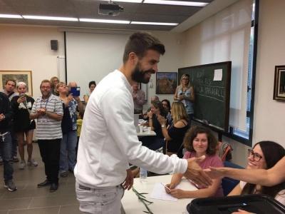 Піке проголосував на референдумі за незалежність Каталонії