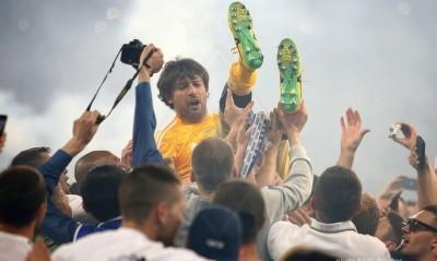 П'ять років тому «Динамо» оформило останній золотий дубль. СаШо став героєм фіналу Кубка