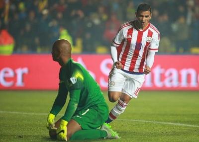 Гонсалес вийшов на заміну в матчі Парагваю та США