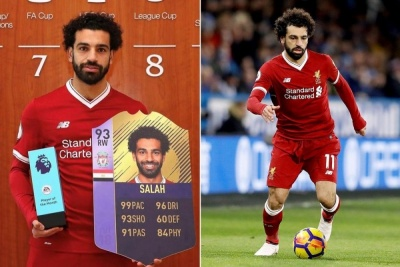 Мохамед Салах став найшвидшим гравцем у FIFA 18